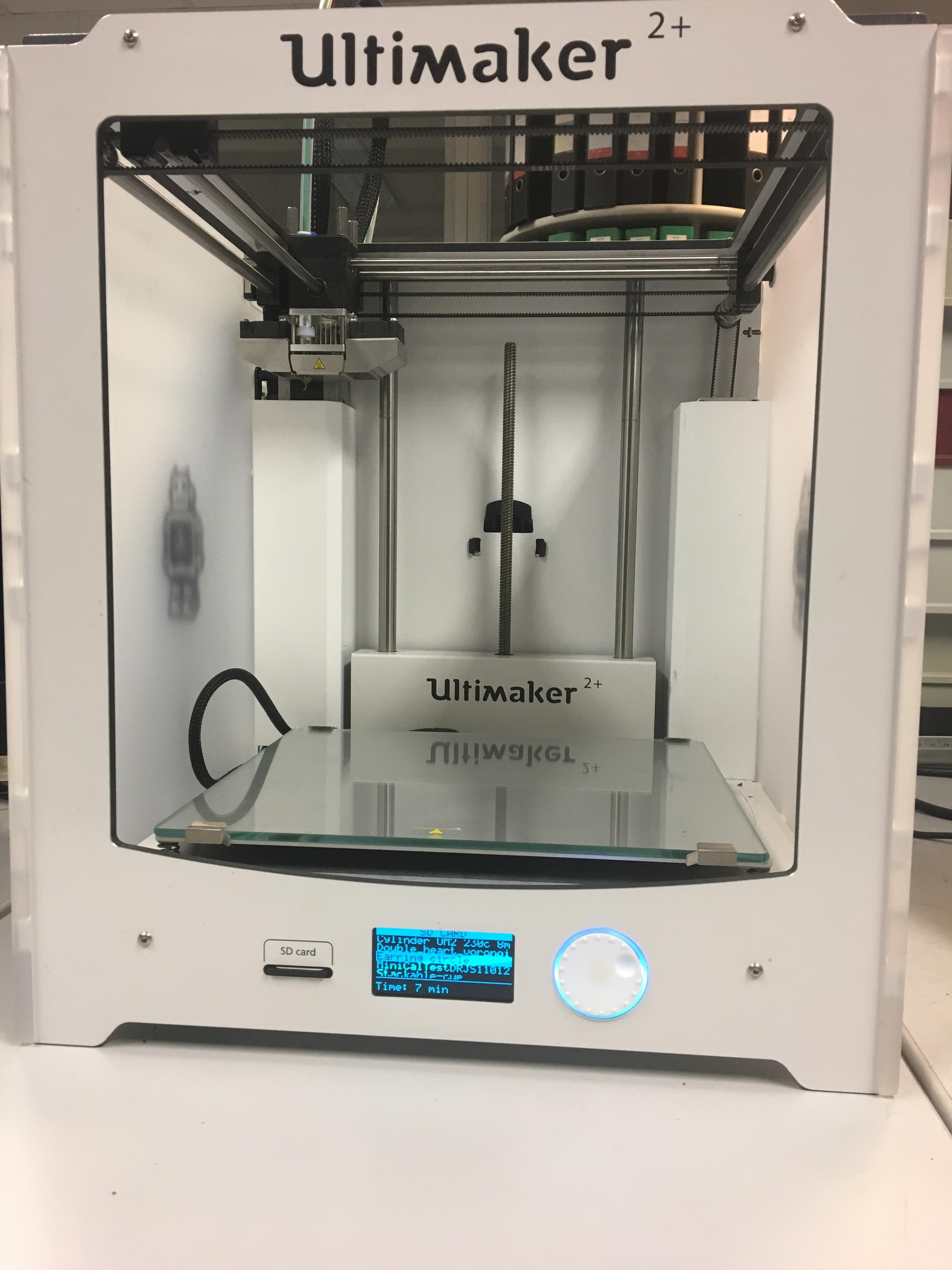 Een 3D-printer ten dienste van de metro