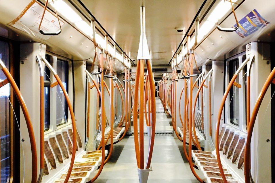 meer licht in de metro