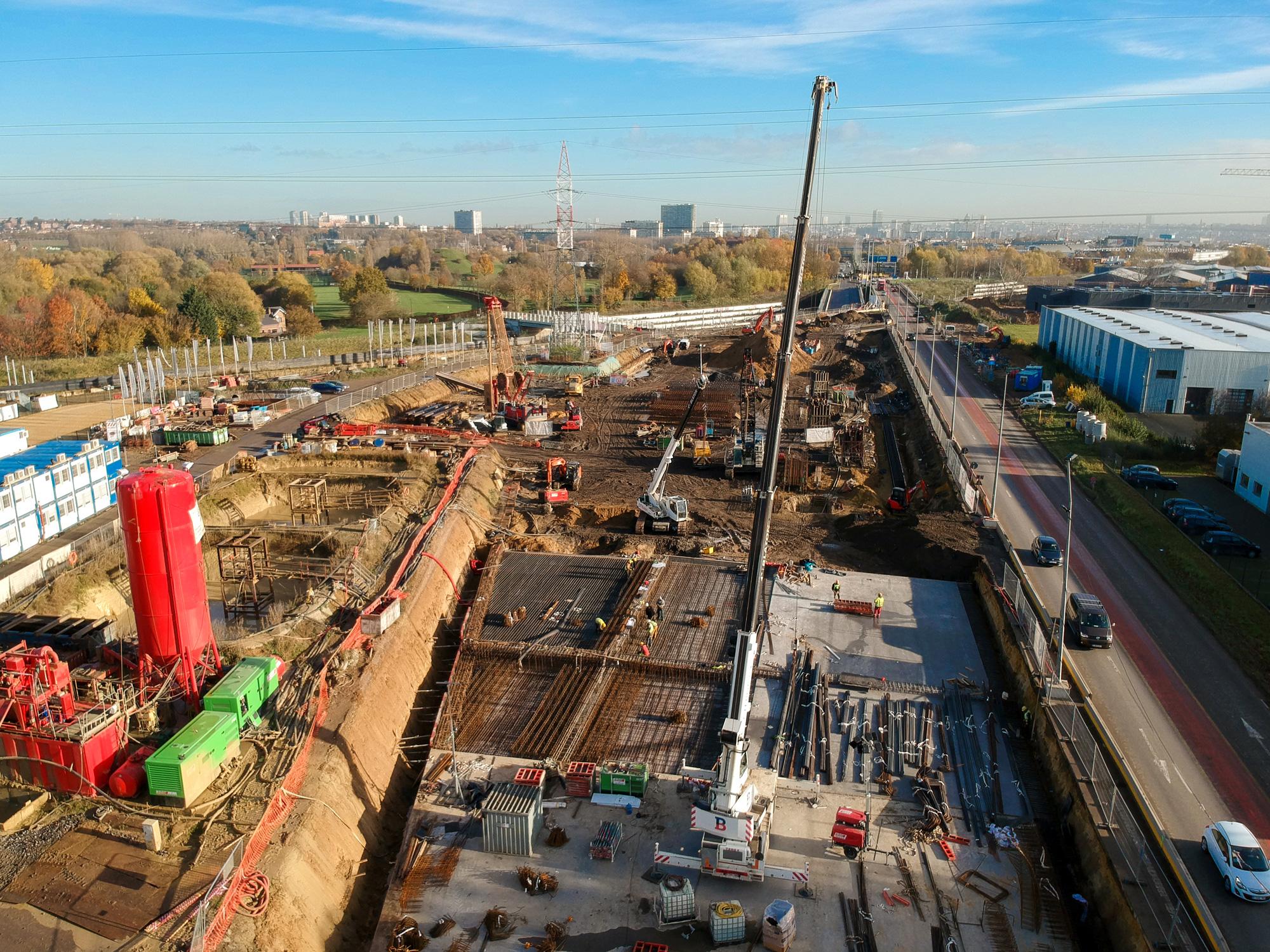 Een nieuw huis… voor de nieuwe metro