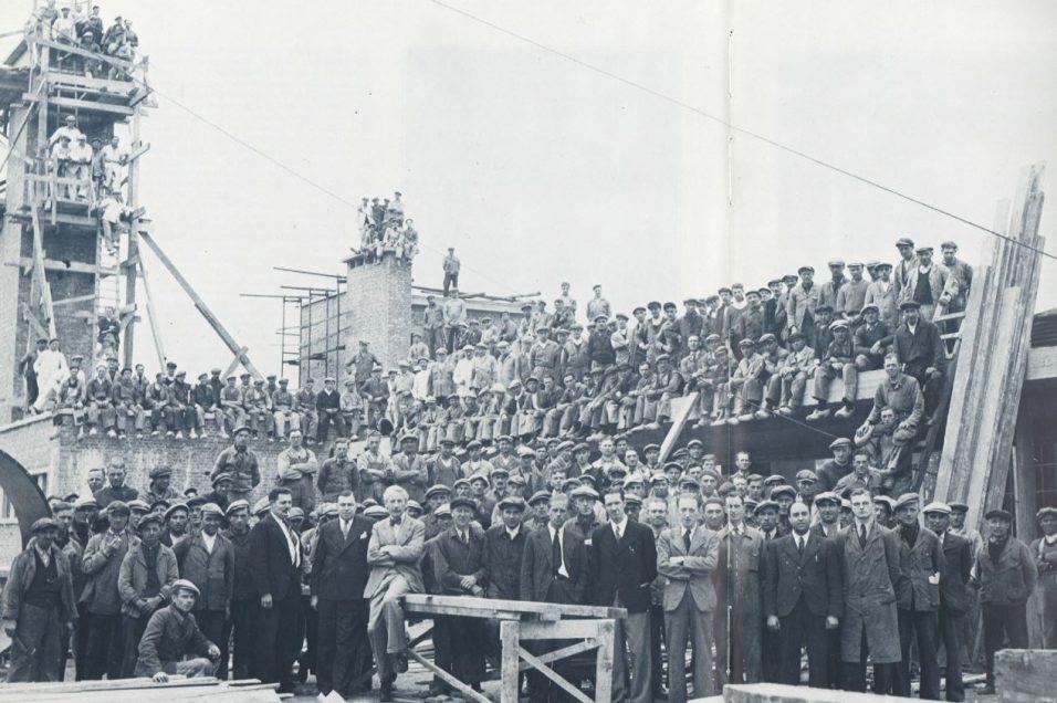 ensemble du personnel occupé, 9 septembre 1942