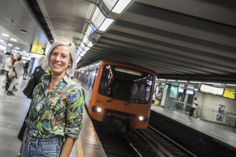 De duizend-en-één levens van Dorothée: van de cockpit naar de metro
