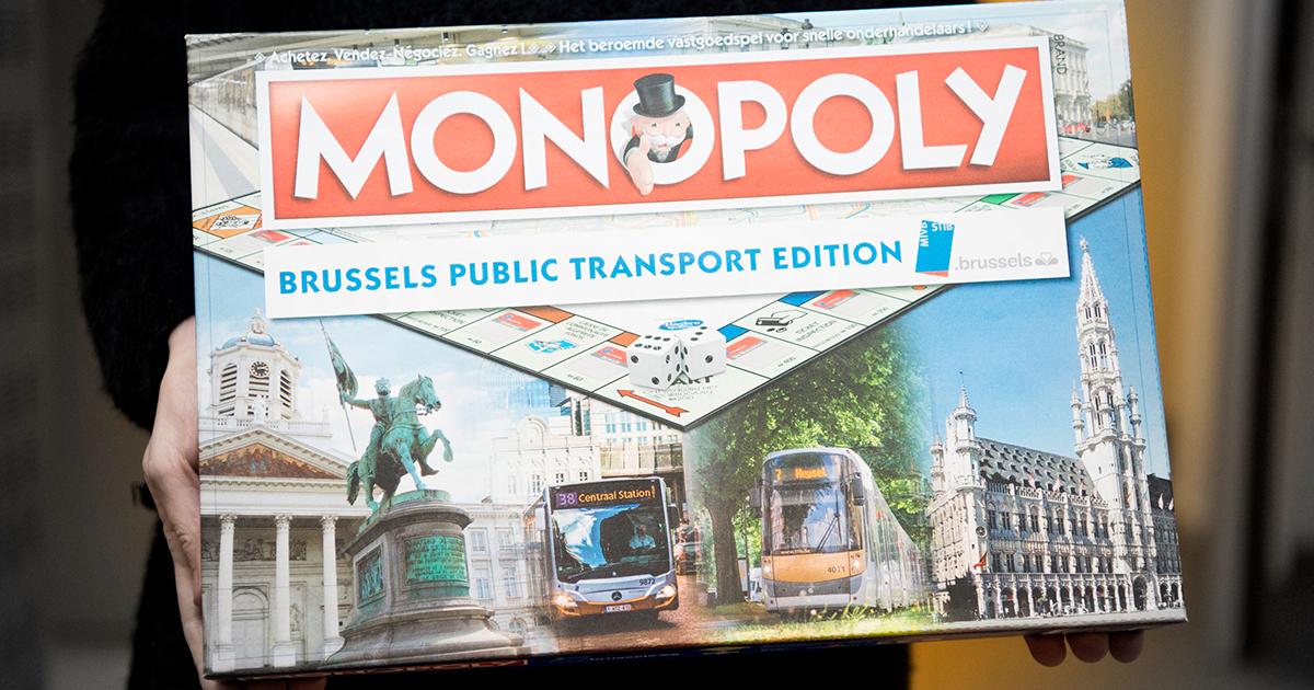 Win een MIVB Monopoly dankzij Sinterklaas!
