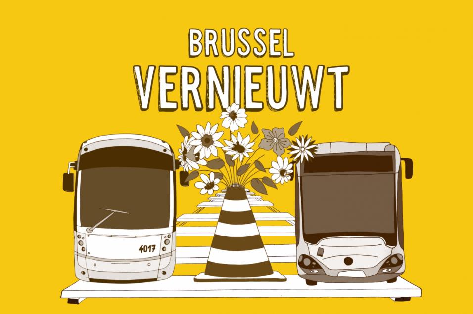 Brussel vernieuwt mivb zomerwerven