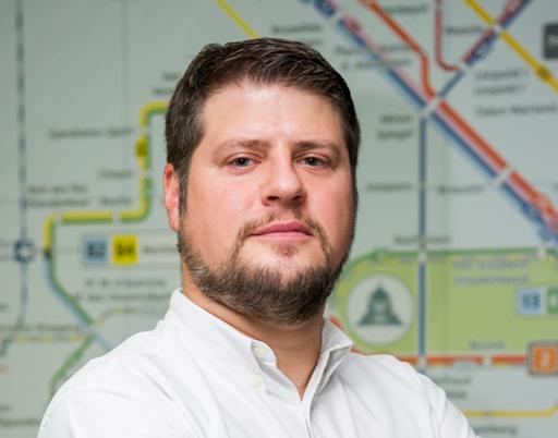 Rob Roemers, data-expert bij de MIVB