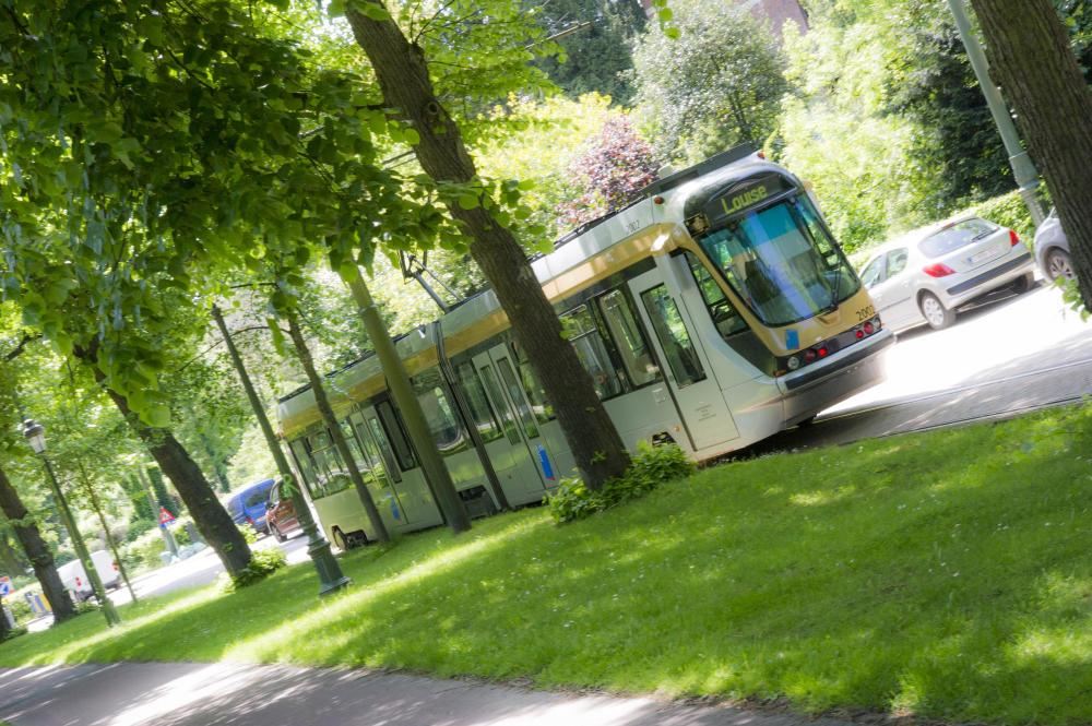 Tram T2000 op het net
