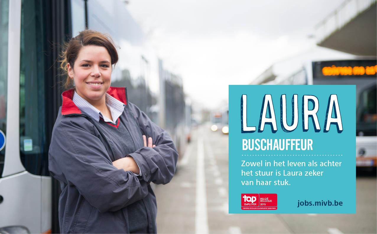 Laura, buschauffeur