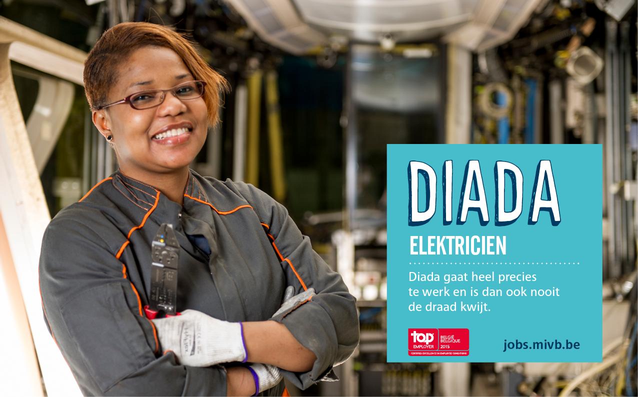Diada, elektricien