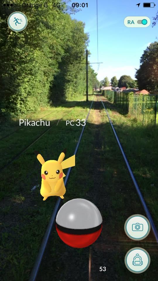 Opgelet ! De tram heeft altijd voorrang (foto Sophie Kodeck)