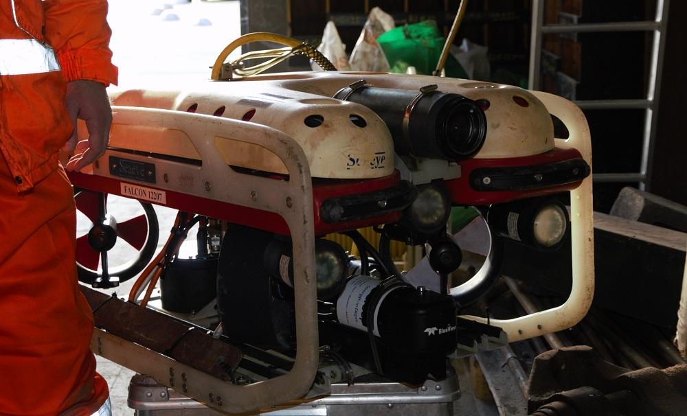 Wat doet een onderwaterrobot bij de MIVB?