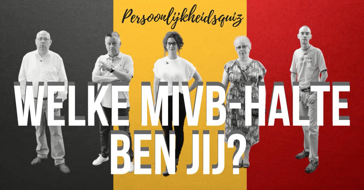 Quiz: welke MIVB-halte ben jij?