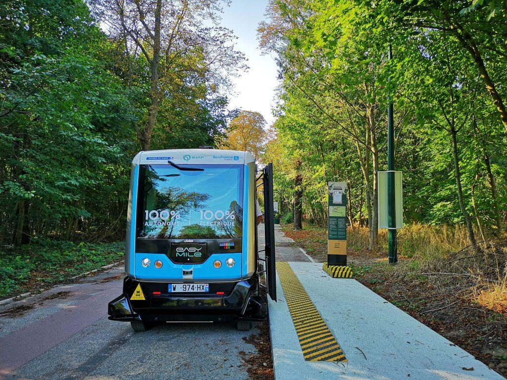 Autonoom voertuig RATP